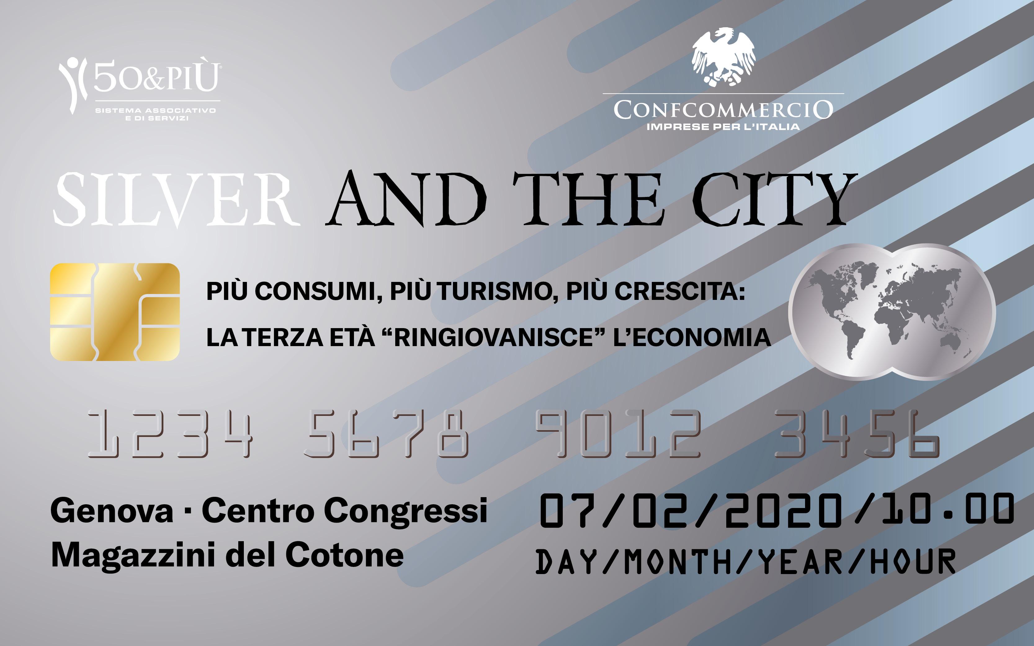 """Convegno """"Silver and the city"""""""